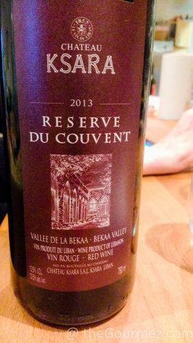 Chateau Ksara Reserve du Couvent Review