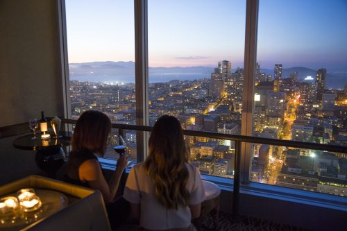 Cityscape Hilton San Francisco View