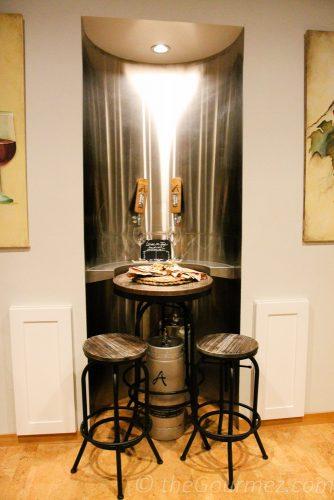 tiny house wine keg alexandria nicole