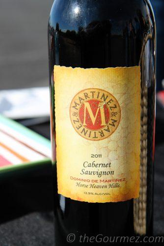 Martinez & Martinez 20011 Cabernet Sauvignon