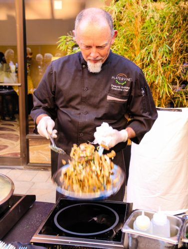 chef dwayne griffiths plate & vine