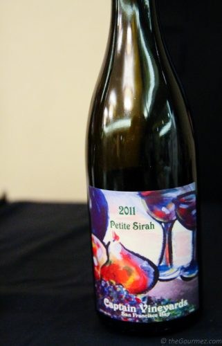 2011 Captain Vineyards Petite Sirah