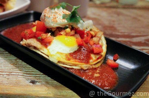 huevos rancheros the Lunchpad