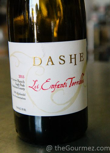 Dashe Cellars Les Enfants Terrible wine zinfandel
