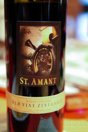 St. Amant Winery old vine zinfandel