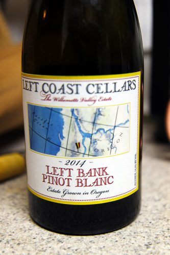 Left Coast Cellars LEft Bank Pinot Blanc