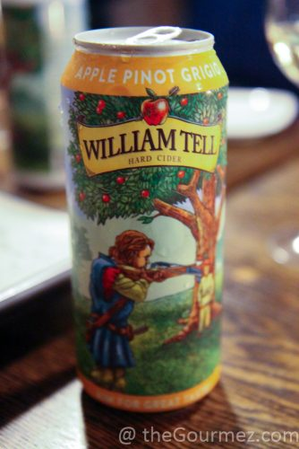 William Tell Cider Pinot Grigio