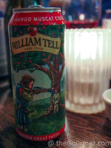 William Tell Cider Mango Muscat