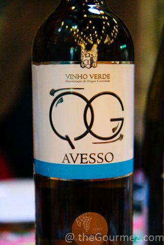 Vinho Verde Quinta de Gomariz avesso
