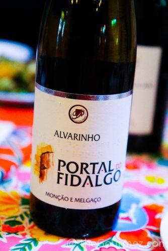 vinho verde portal do fidalgo alvarinho
