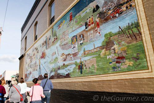 downtown Prosser mural