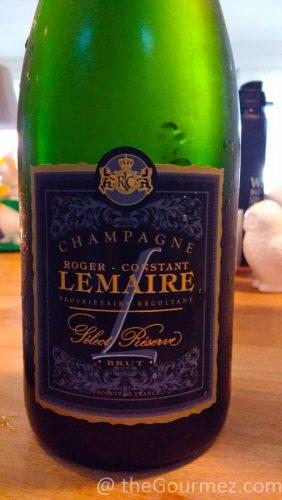 Roger Constant Lemaire champagne blanc de noirs