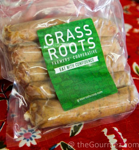 grass roots farmers' coop sausage