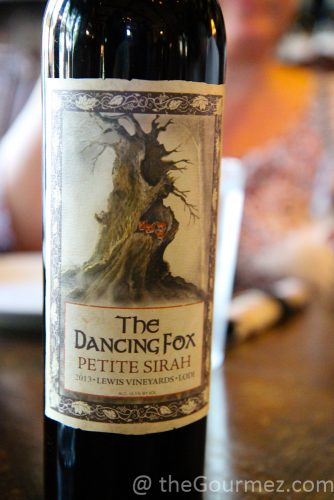 the dancing fox petite sirah lodi