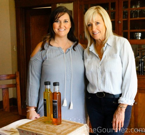 Karen and Nicole chandler olive drop lodi food