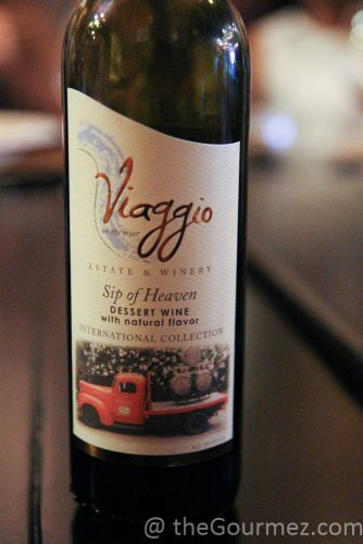 viaggio estate chocolate sip of heaven wine dessert
