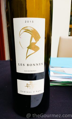Château d'Agel Les Bonnes Rouge 2016 avpsa wine