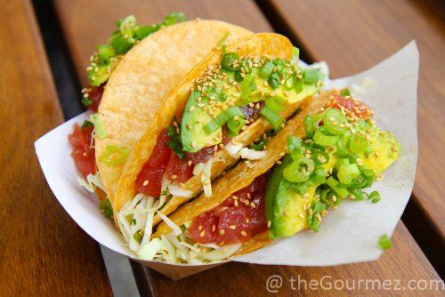 Gott's Roadside tuna poke tacos