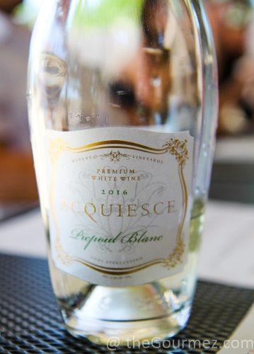 acquiesce winery, ascquiesce wine, picpoul, picpoul blanc, rhone wine, lodi wine