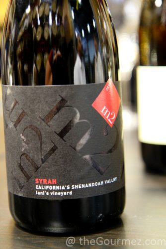 m2 syrah, lani's vineyard, m2, syrah, wines, lodi wine, tasting notes
