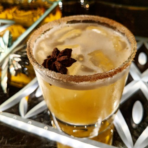 mixed up, apple cider magarita, redwood room, clift hotel