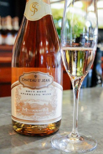 Chateau St. Jean winery sonoma sparkling rose