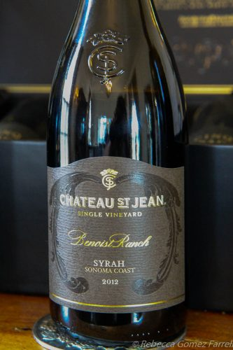 Chateau St. Jean winery sonoma syrah