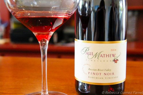paul mathew, wine road, winery, graton, bohemian pinot noir