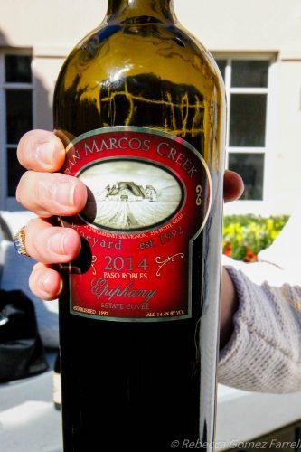 san marcos creek, epiphany, wine