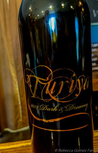 turiya wines, lompoc wine factory, dark and dreamy