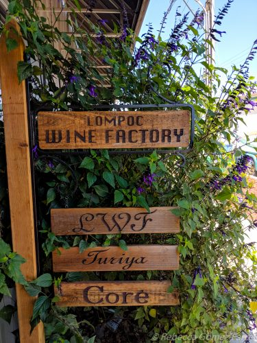 turiya wines, lompoc wine factory