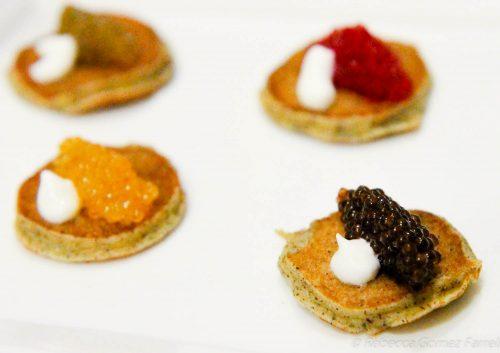 Jordan winery, caviar tasting,