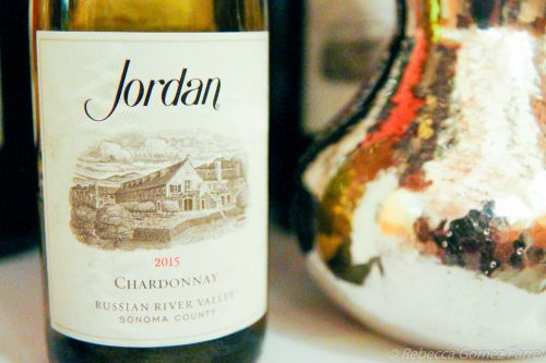 Jordan winery, caviar tasting, chardonnay