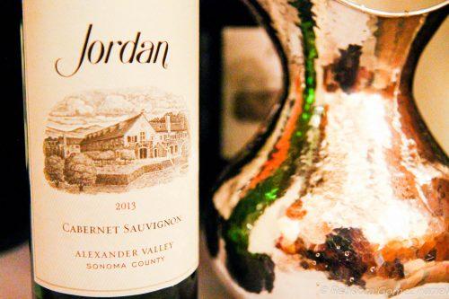 jordan winery, cabernet sauvignon, 2013 vintage