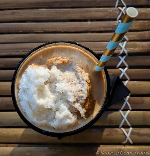 farmhouse kitchen oakland thai iced coffee