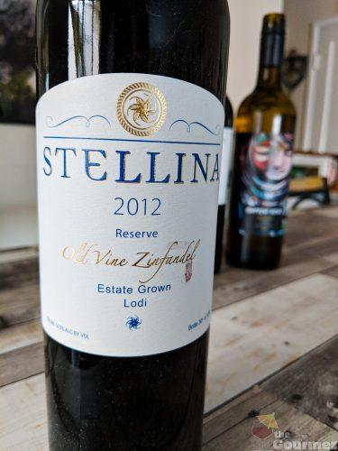 Stellina 2012 Reserve Old Vine Zinfandel, Estate Crush