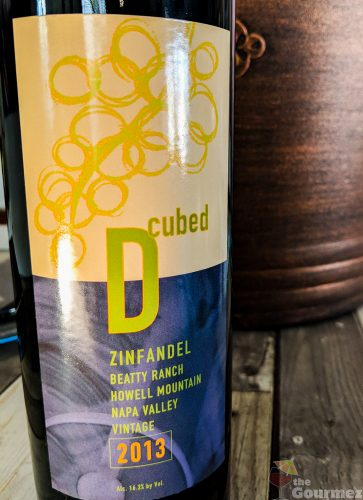 d-cubed cellars, zinfandel, tasting notes, review