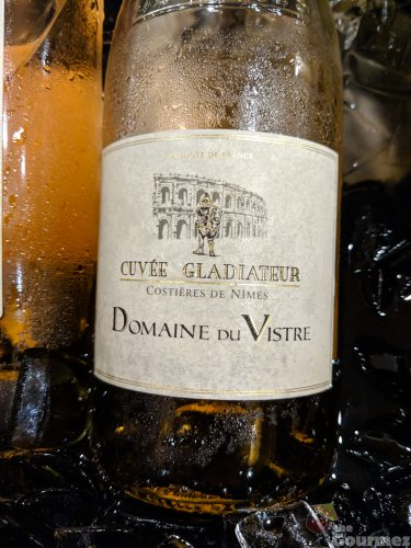 AVPSA, wine, tasting, european, domaine du vistre, cuvee gladiateur, gladiator