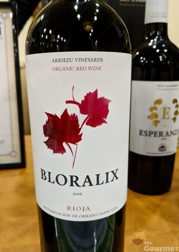 AVPSA, wine, tasting, european, bloralix, rioja, arriezu vineyards