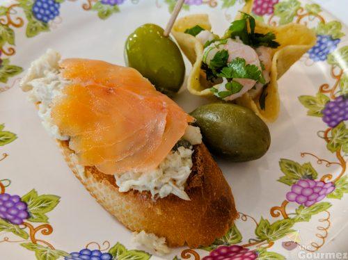 Bodegas Aguirre, wine, livermore, smoked salmon, pairing