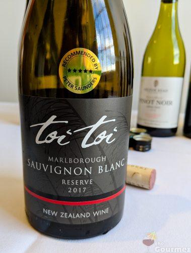 New Zealand wine, wine, tasting notes, sauvignon blanc, toi toi