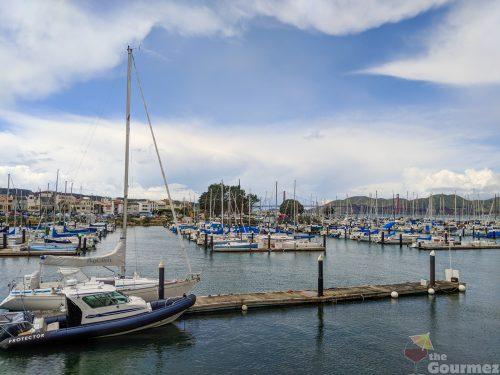 san francisco, docks, boats
