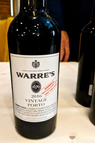2016 Vintage Port, warre's 2016