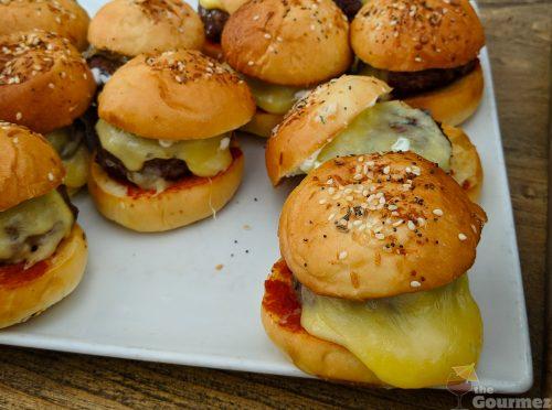 sens restaurant, lamb slider, lamb burger