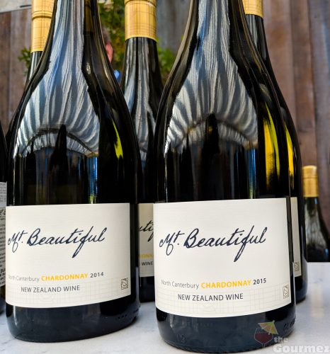 Mt. Beautiful wine, vertical tasting, chardonnay