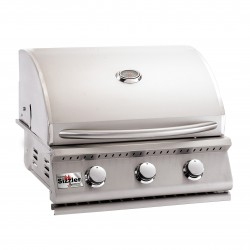 "Summerset Sizzler 26"" Stainless Steel Built-in Gas Grill"