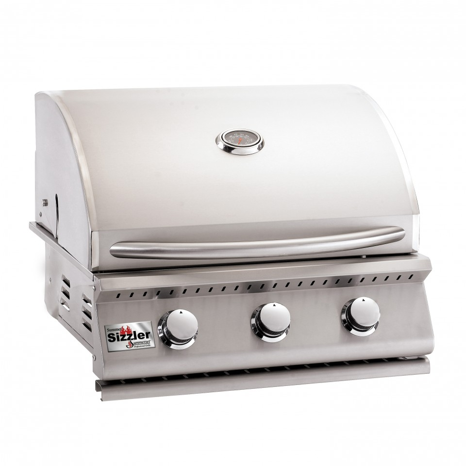 26 Built In Gas Grill Insert ~ Summerset sizzler quot built in grill siz