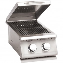 Summerset Sizzler Stainless Steel Gas Double Side Burner