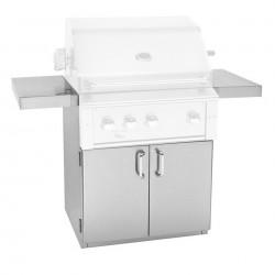 "Alturi 36"" Luxury Stainless Steel Grill Cart"