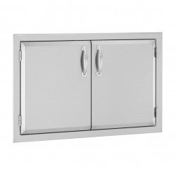 Alturi 30-in. Luxury Stainless Steel Double Doors